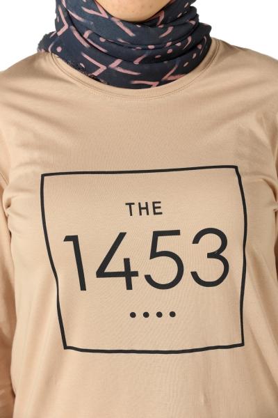 1453 Baskılı Penye Tunik
