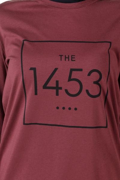 1453 PRINTED PINE TUNIC
