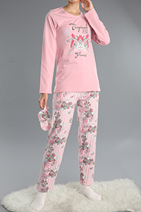3 Pieces Printed Patterned Track Suit