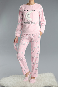 4 Pieces Embroidered Track Suit