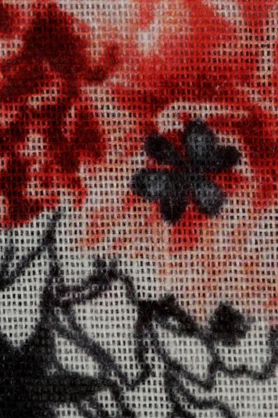 Akel Çiçek Desenli Şal Eşarp