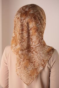 AKEL PATTERNED SCARF