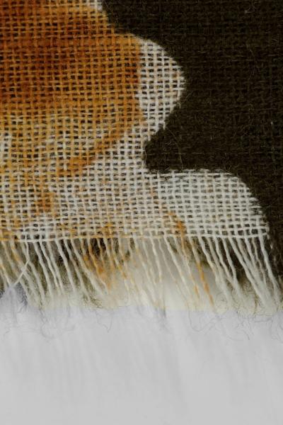 Akel Patterned Cotton Shawl
