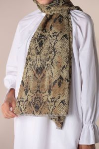 AKEL COMBED COTTON SHAWL
