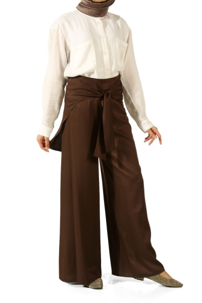 Hijab Belted Pants