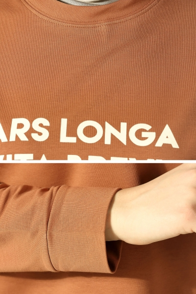 Hardal ars longa vita brevis bask l sweatshirt p51613 for Vita brevis ars longa tattoo