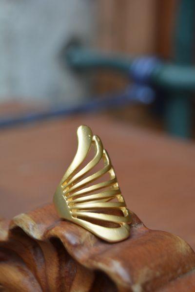 Artbutika Altın Kaplama Yüzük