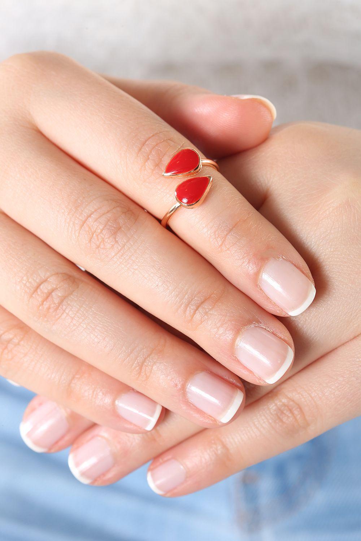 Artbutika Damla Eklem Yüzüğü