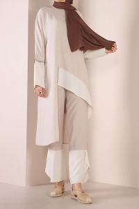 ASYMMETRIC HIJAB SUIT