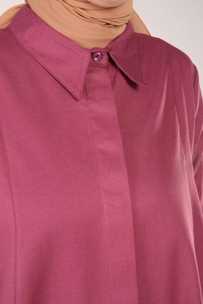 Asimetrik Uzun Gömlek