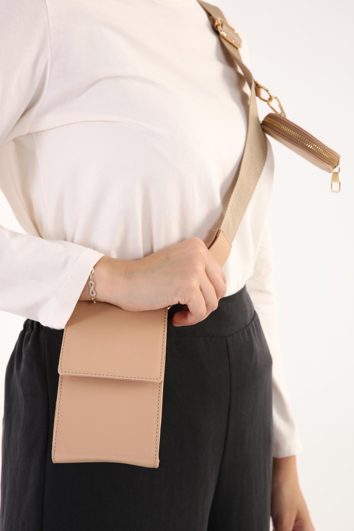 Shoulder Wallet Bag With Coin Case