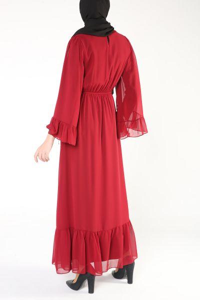 LINED DRESS