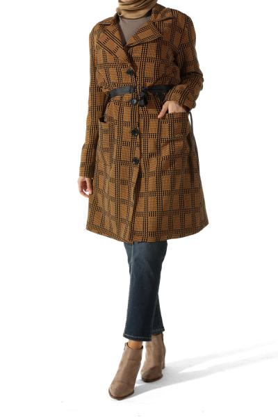 Astarlı Kuşaklı Ceket