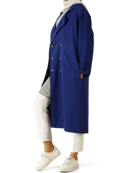 Astarsız Önü Çıtçıtlı Ceket
