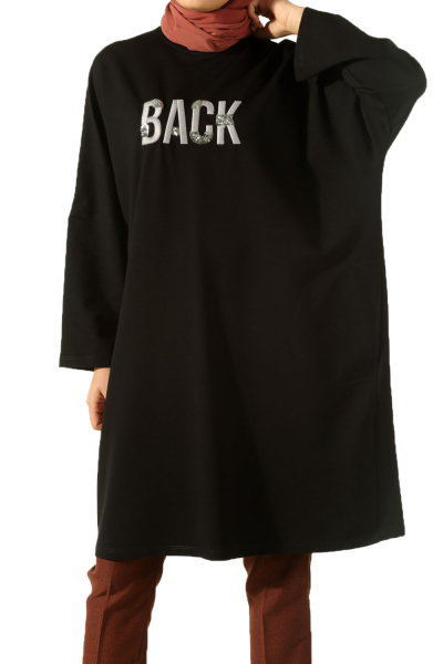 BACK EMBROİDERED TUNIC