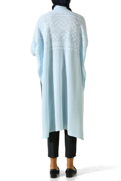 TURTLENECK KNITWEAR PONCHO