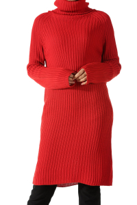 TURTLENECK KNITWEAR TUNIC