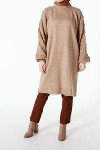 BALLOON SLEEVE KNITWEAR TUNIC