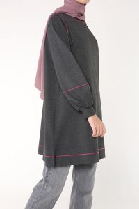 BALLOON SLEEVE TUNIC