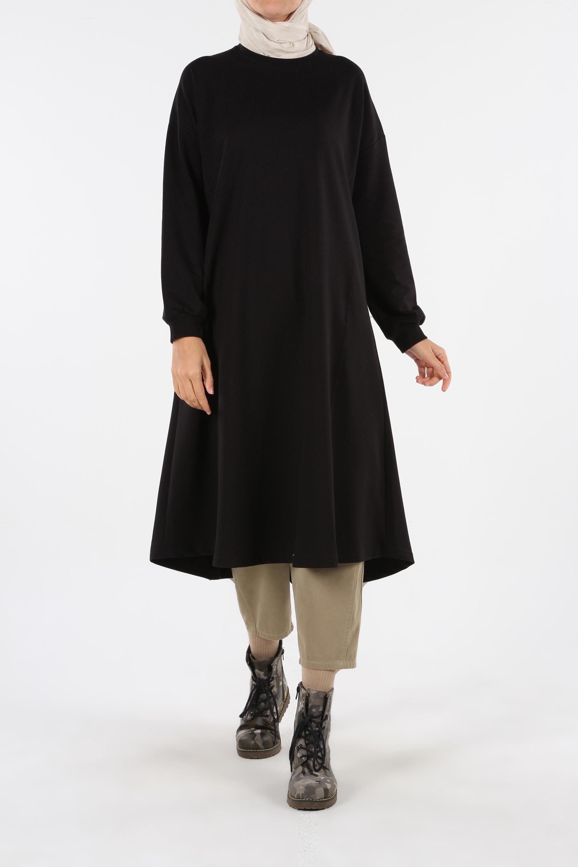 Sleeve Detailed Basic Tunic