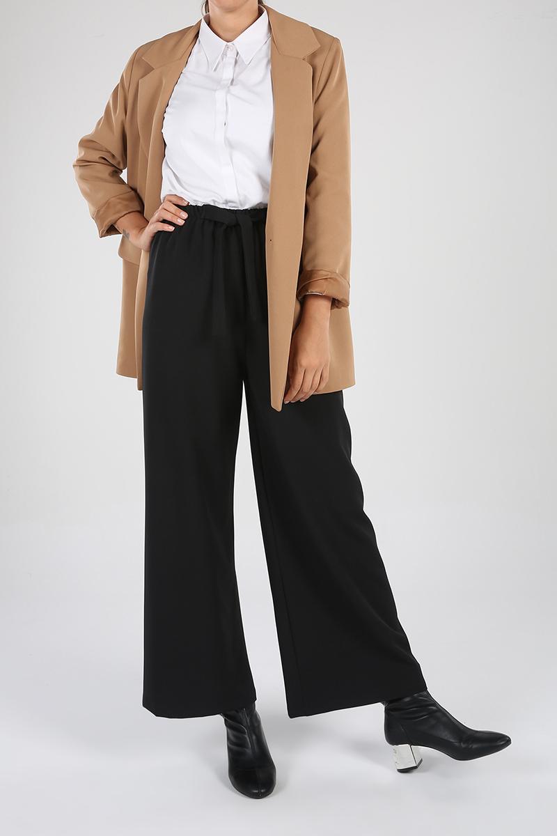 Basic Lastikli Pantolon
