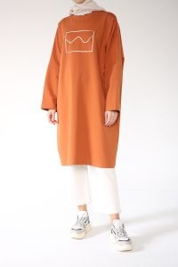 PRINTED SALAS TUNIC WITH POCKET