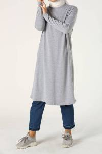 MONDAYS PRINTED COMBED COTTON TUNIC