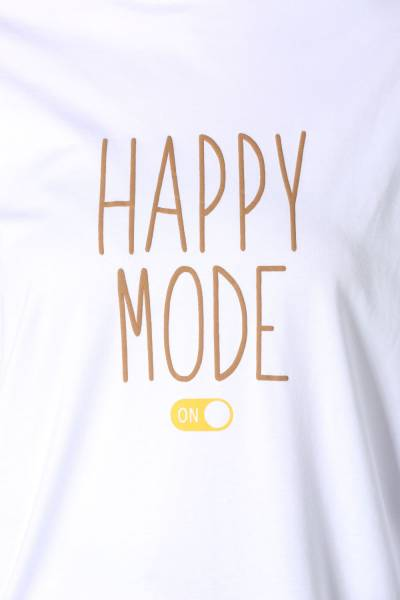 HAPPY MODE PRINTED TUNIC