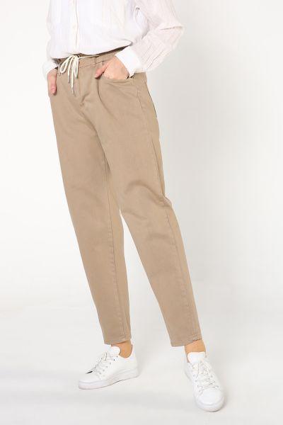 Bel Lastikli Cepli Pantolon