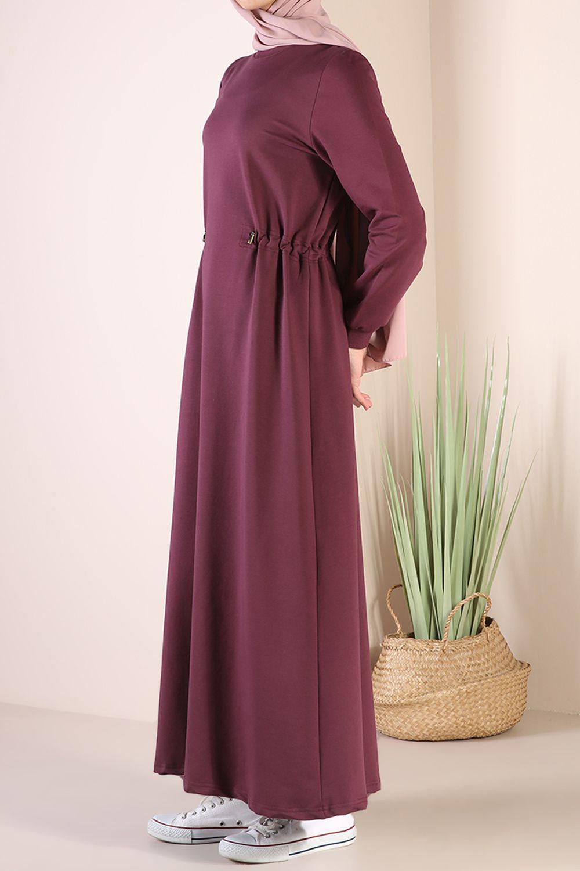 Belden Lastikli Elbise