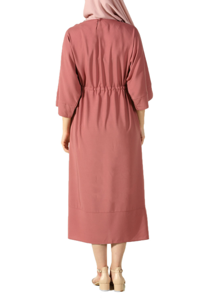 Beli Bağcıklı Elbise