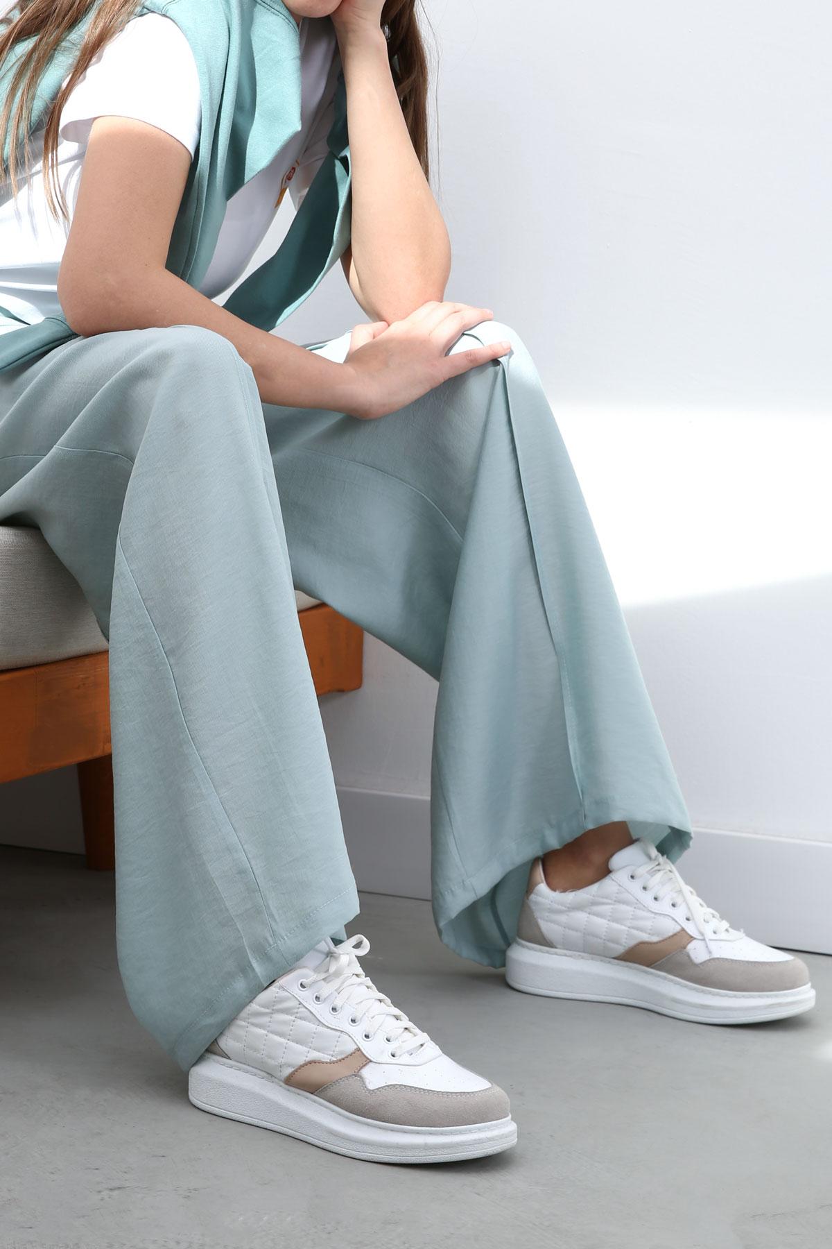Tencel Elastic Waist Comfy Pants