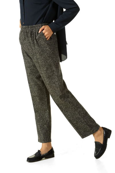 PLUS SIZE ELASTIC WAIST PANTS