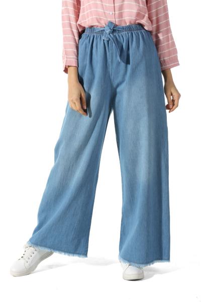 Hijab Elastic Waist Jeans