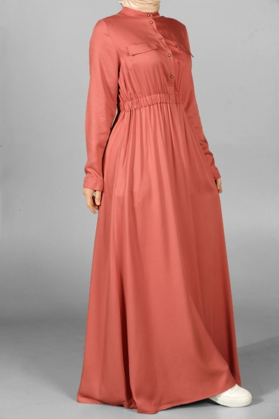 Beli Lastikli Elbise