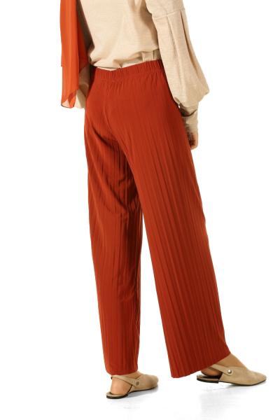 Beli Lastikli Pliseli Pantolon