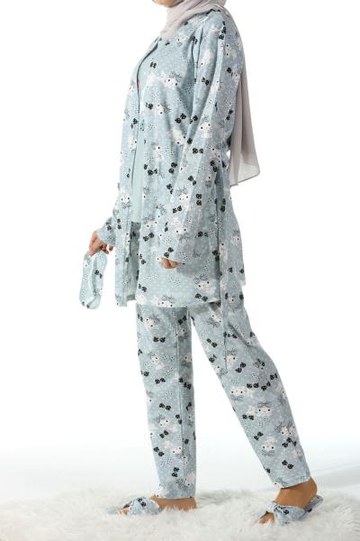 Beşli Pijama Takımı