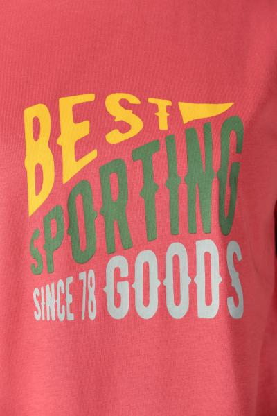 Best Sporting Baskılı Penye Tunik