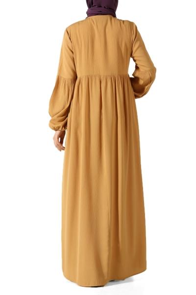 Bileği Lastikli Elbise