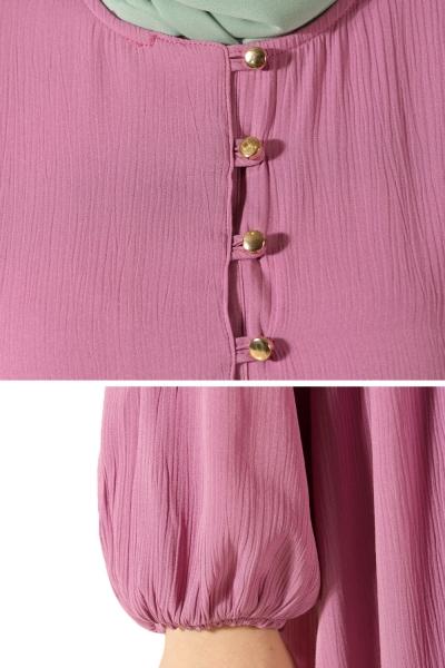 Elastic Cuff Dress