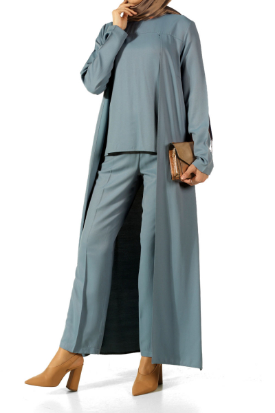 Crew Neck Hijab Suit