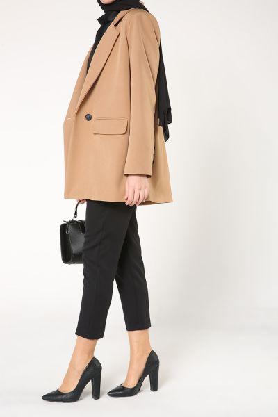 Düğmeli Blazer Ceket