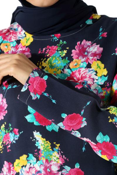Flower Patterned Blouse