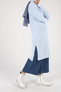Raglan Sleeve Knitwear Tunic