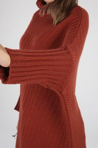 Batwing Sleeve Knitwear Tunic