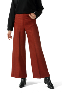WIDE LEG ZIPPERED HIJAB PANTS