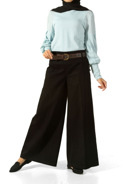 HIJAB WIDE-LEG TROUSERS