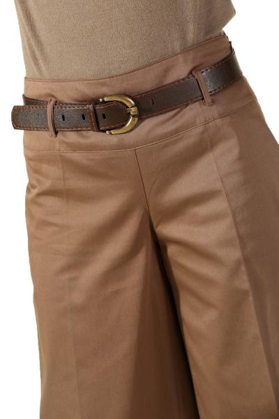 Bol Paça Korsajlı Pantolon
