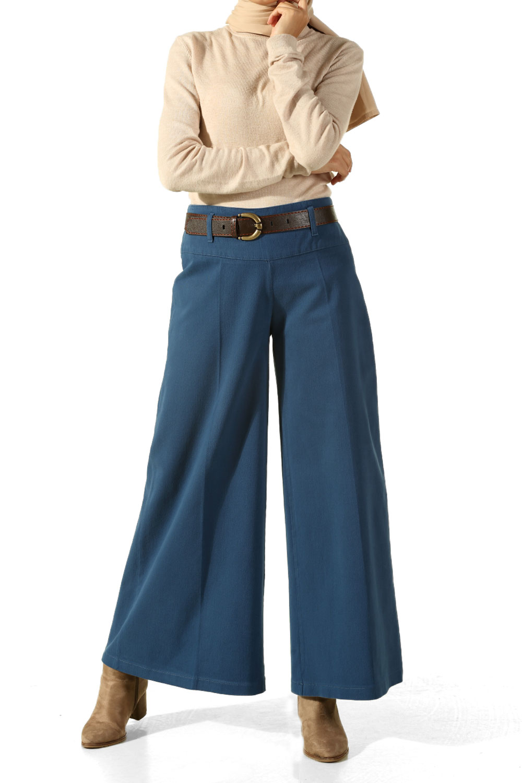 Hijab Wide-Leg Trousers