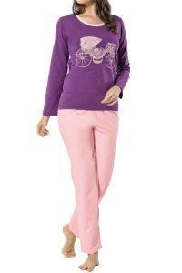 Büyük Beden Baskılı Pijama Takımı